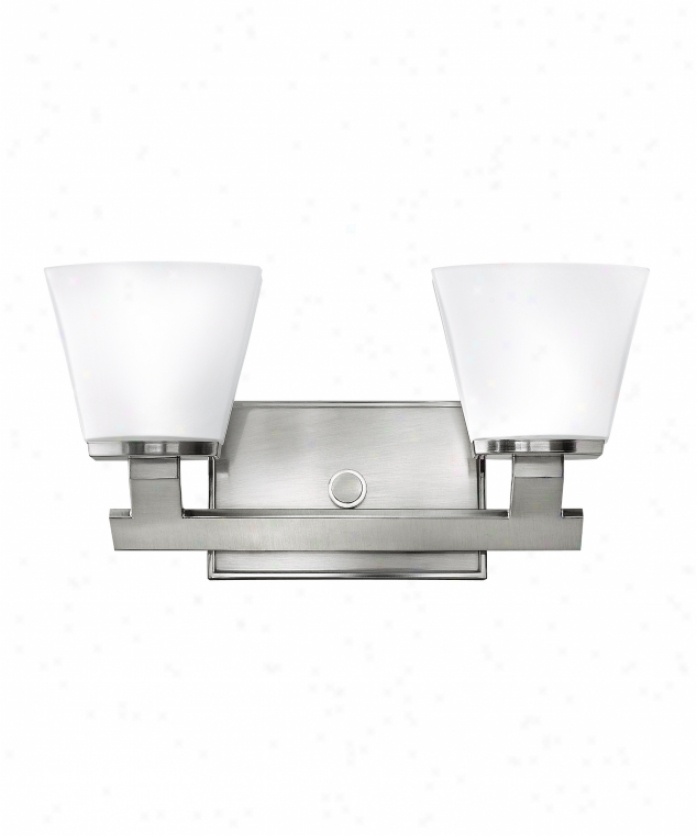 Hinkley Lighting 5502bn Nico 2 Light Bath Vanity Light In