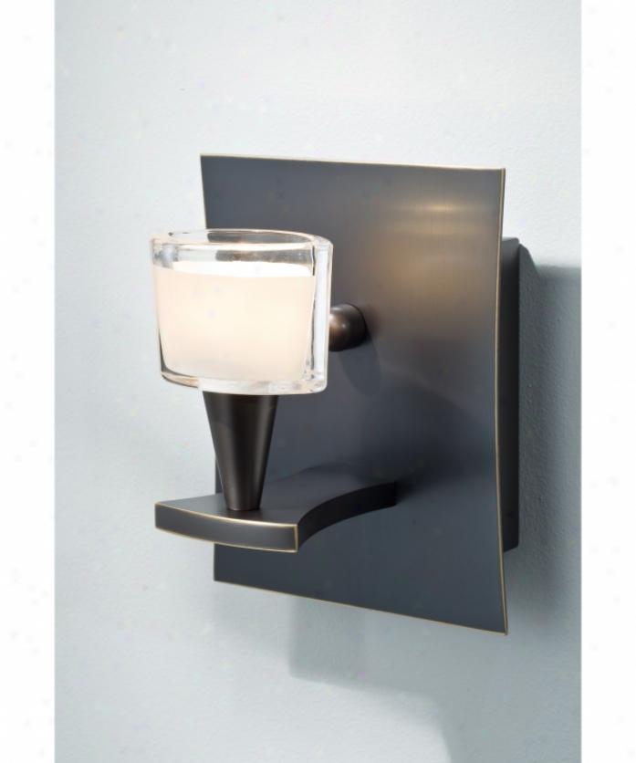 Minka Lavery 8563 51 PL Berkeley Energy Smart 1 Light Outdoor Wall Light In R