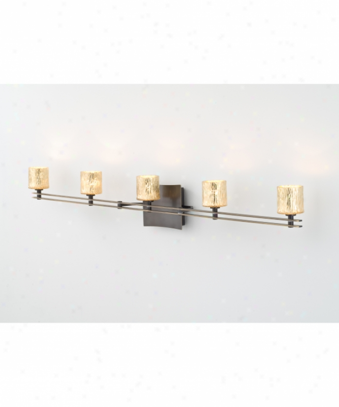 Artcraft AC8170OB Newport 1 Light Outdoor Wall Light In Dark Oil Rubbed Bronz