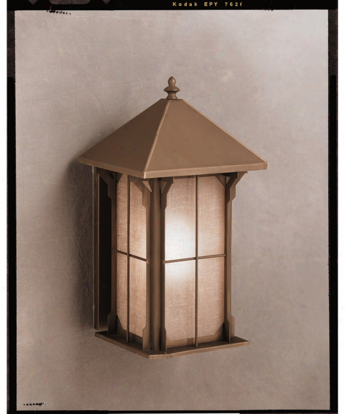 Hanover Lantern B25155abs Manor Small 1 Light Outdoor Wall