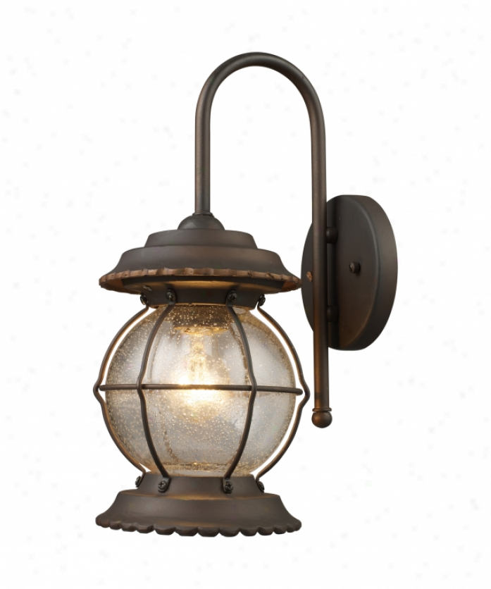 Commercial Lighting Manchester: Artcraft AC8170OB Newport 1 Light Outdoor Wall Light In