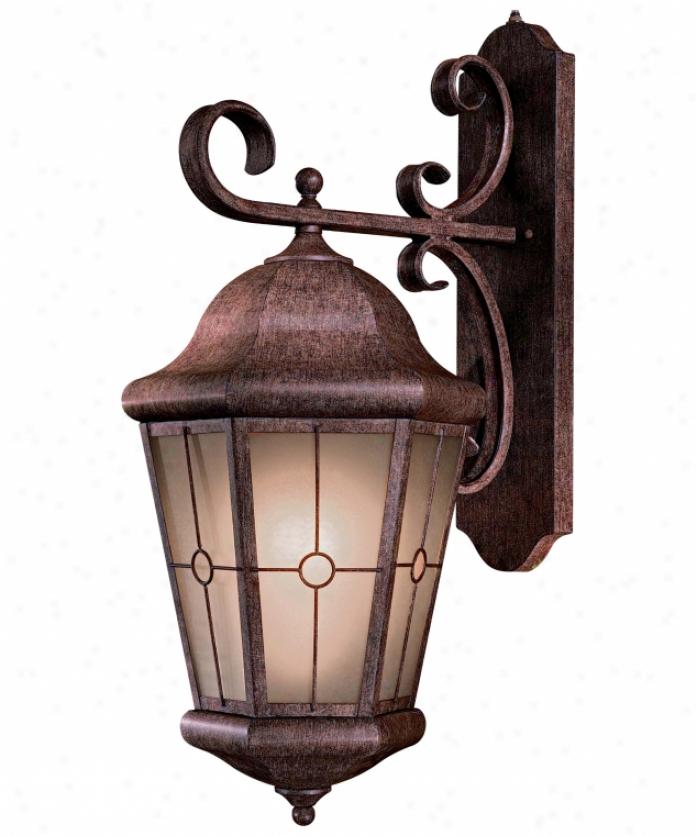 Minka Lavery 8217 61 Pl Montellero Energy Smart 1 Light Outdoor Wall Light  In