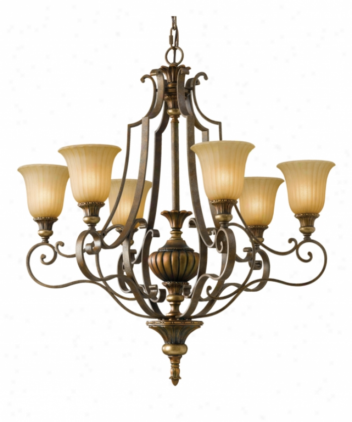 Murray Feiss Fusion Collection: Murray Feiss F2562-5CH Belleaire 5 Light Single Tier