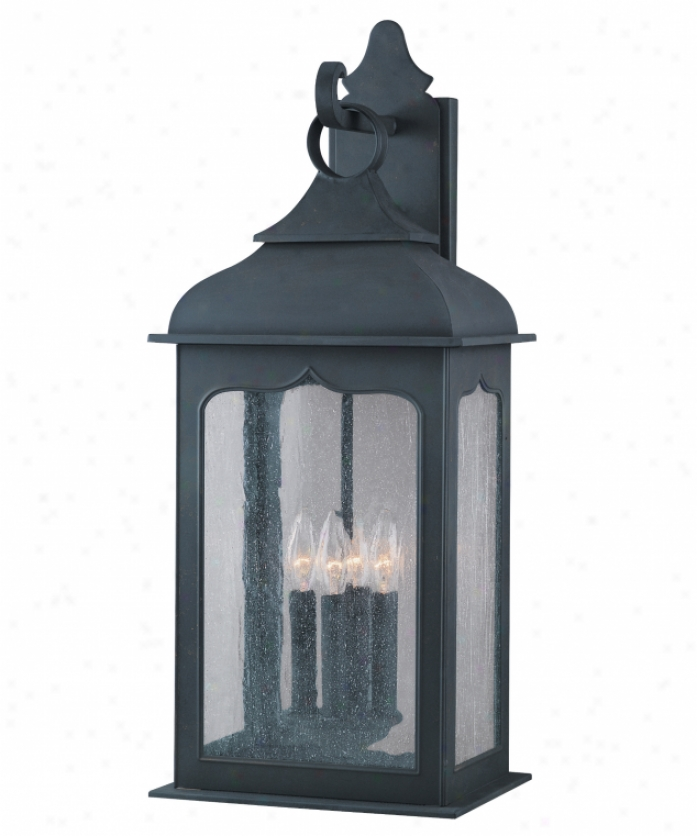 Murray feiss f2562 5ch belleaire 5 light single tier for Colonial exterior lighting