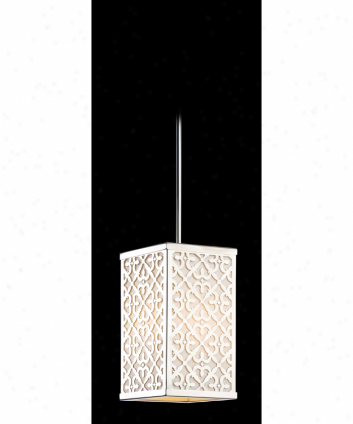 Troy Lighting Ffih6098arb Simpatico Opus Energy Smart 1 Light Exterior Hanging Lantern In Architectural Brown With Iridescent Honey Glass