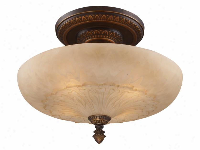 08095-agb - Landmark Lighting - 08095-agb > Semi Flush Mount