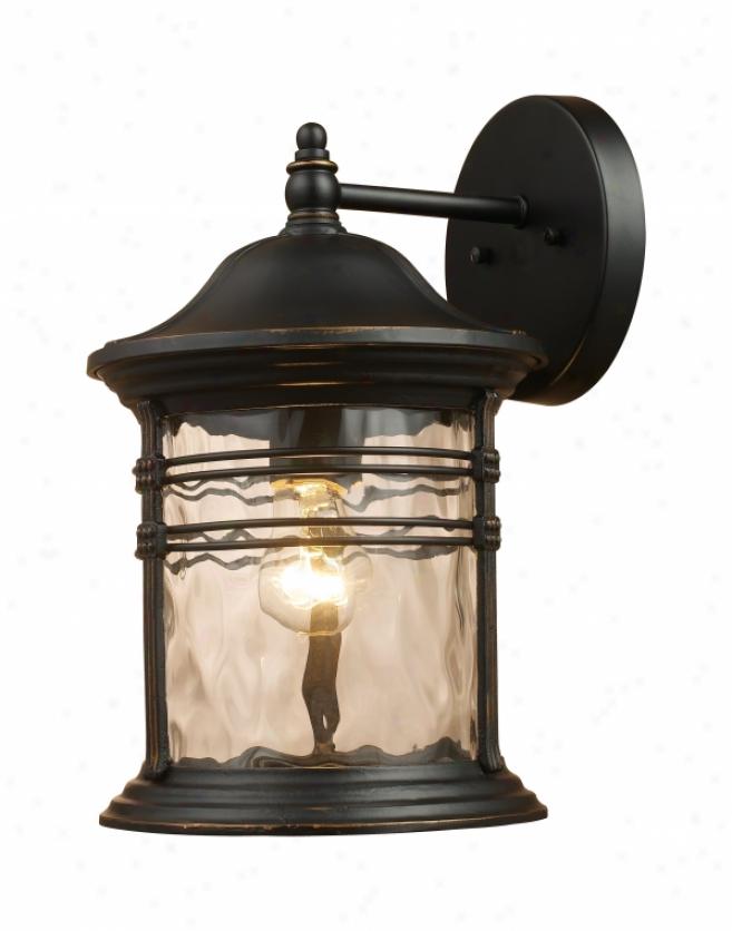 08161-mbg - aLndmark Lighting - 08161-mbg > Outdoor Wall Sconce