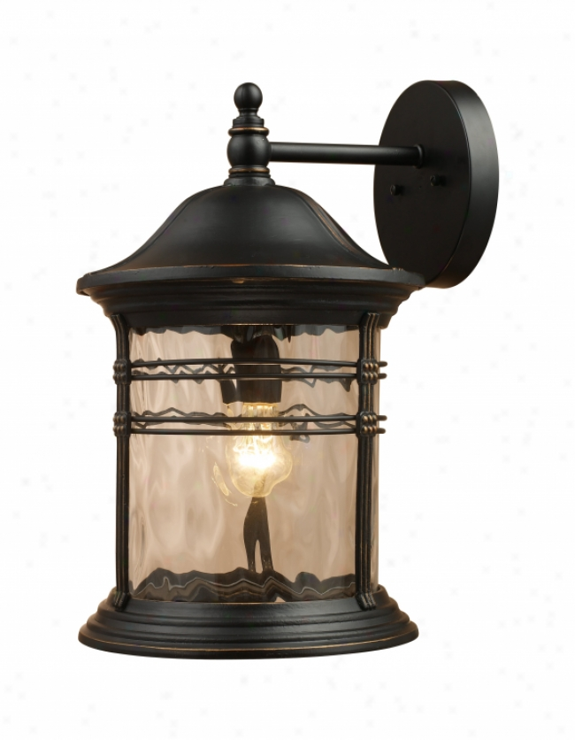 08163-mbg - Landmrak Lighting - 08163-mbg > Outdoor Wall Sconce