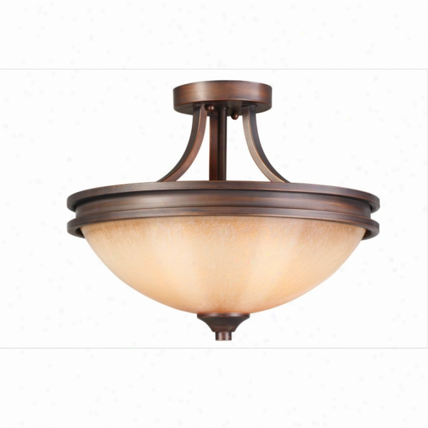 1051-sf-sbz - Golden Lighting - 1051-sf-sbz > Semi Flush Mount