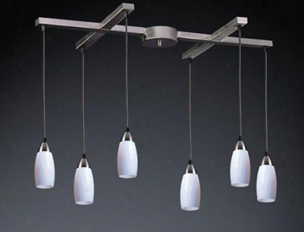 110-6em - Elk Lighting - 110-6em > Chandeliers