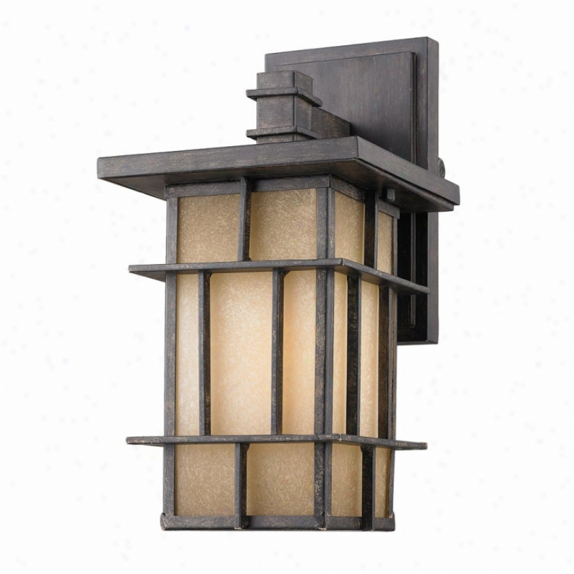 11705-s-wi-es - Golden Lighting - 11705-s-wi-ea > Outdoor Wall Sconce