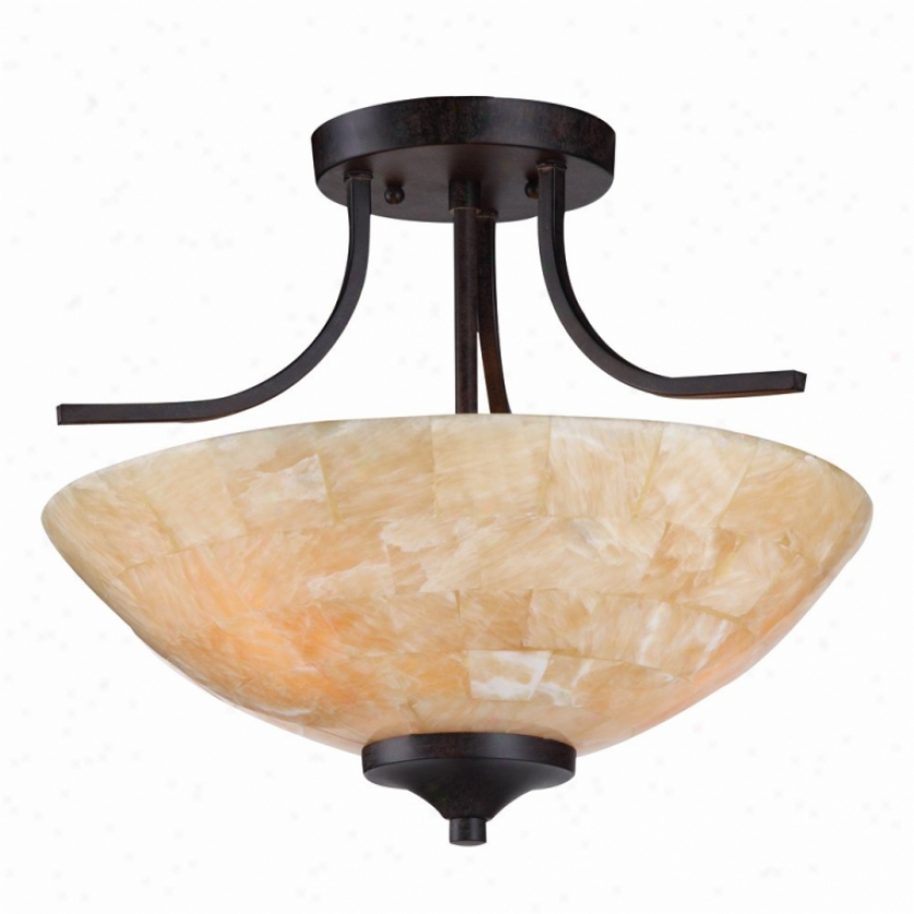1220-s-rt - Golden Lighting - 1220-sf-rt > Semi Flush Mount