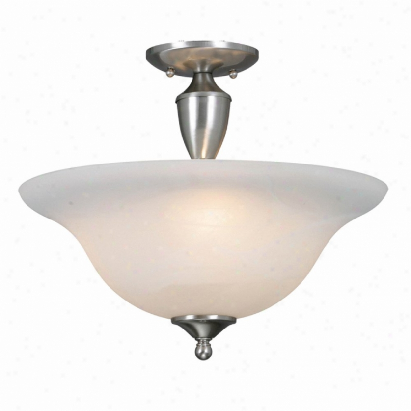 1392pw - Golden Lighting - 1392pw > Semi Flush Mount