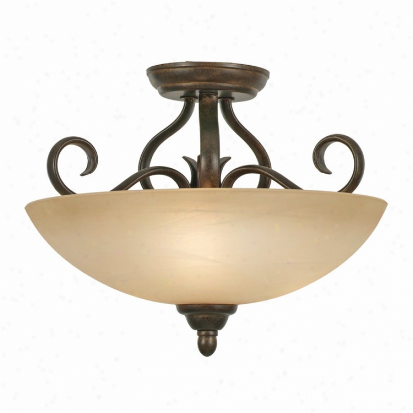 1567-sfpc - Golden Lighting - 1567-sfpc > Semi Flush Mount