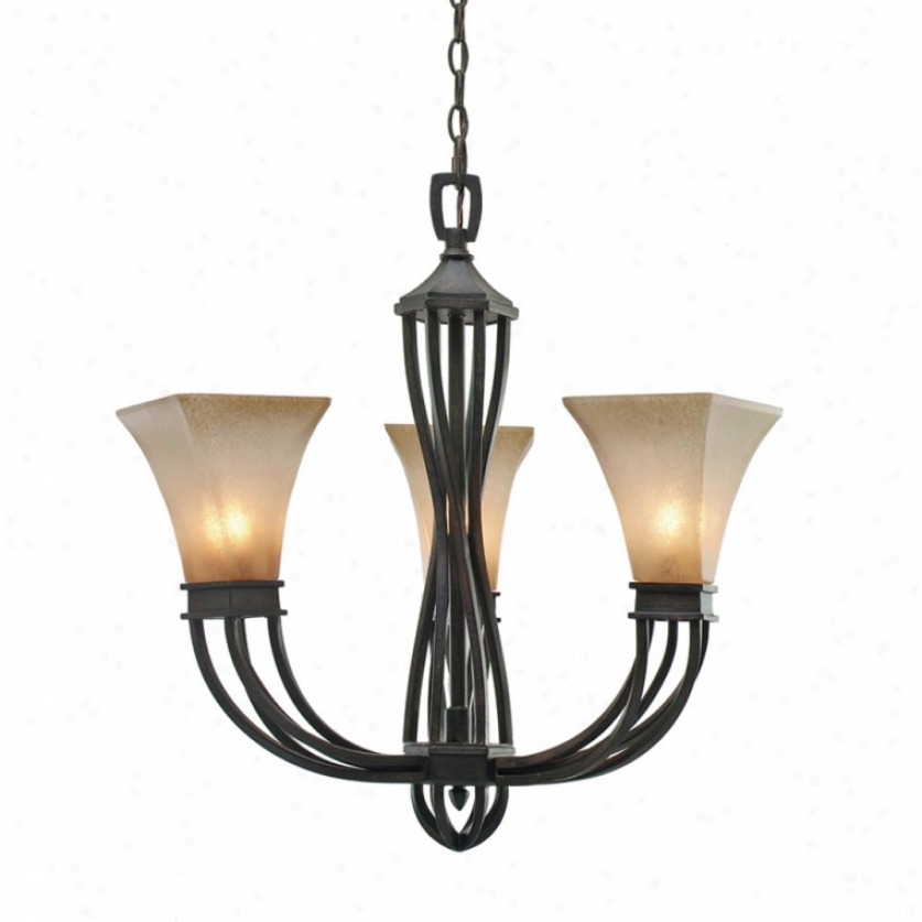 1850-gm3rt - Golden Lighting - 1850-gm3rt > Mini Chandelier