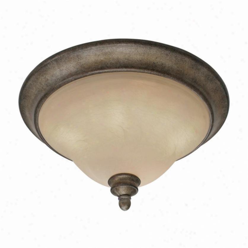 2488-17fi - Golden Lighting - 2488-17fi > Flush Mount