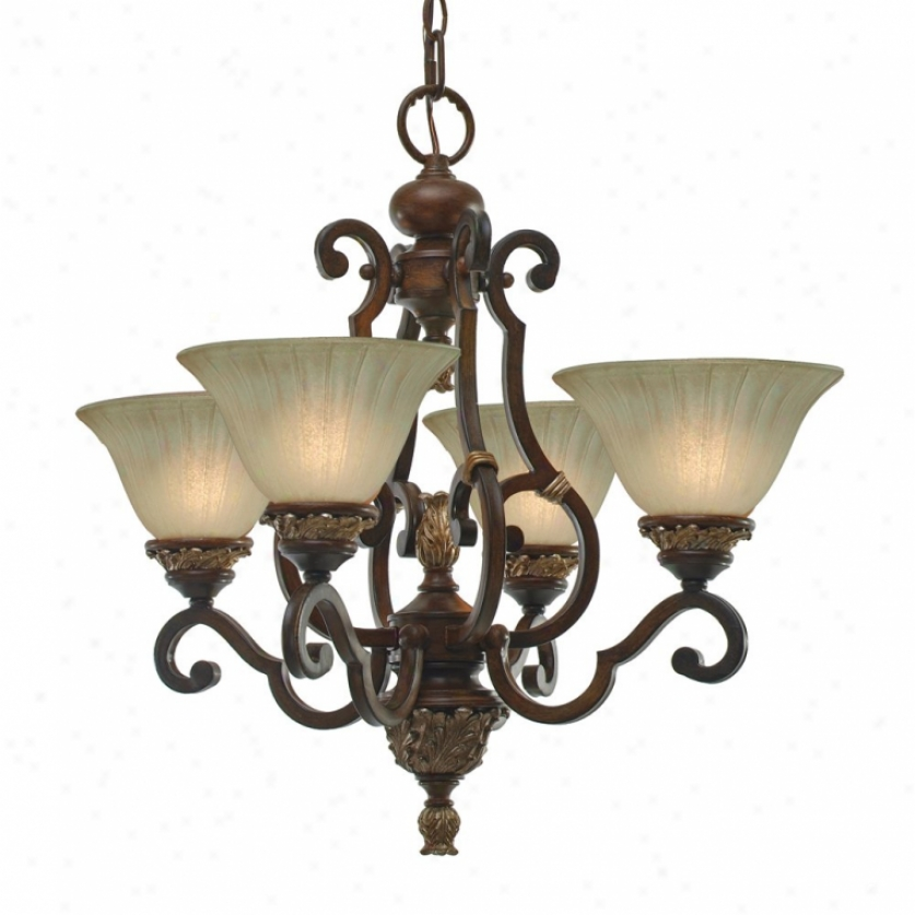 2501-gm4nwb - Golden Lighting - 2501-gm4nwb > Mini Chandelier
