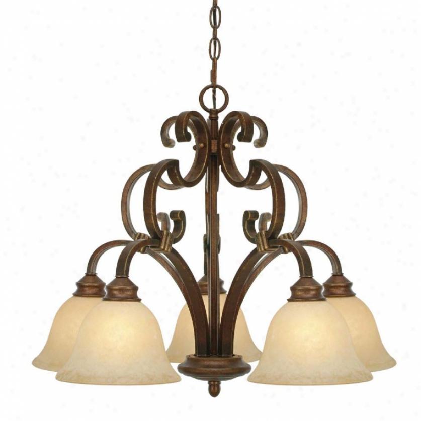 3711-d5cb - Golden Lighting - 3711-d5cb > Chaandeliers