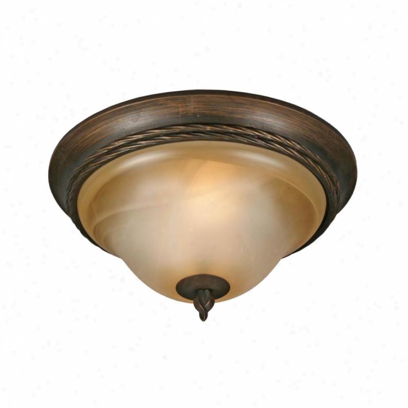 3890-13gb - Golden Lighting - 3890-13gb > Flush Mount