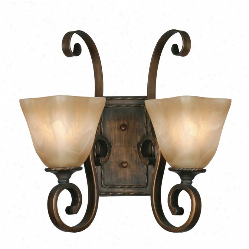 3890-2wgb - Golden Lighting - 3890-2wgb > Wall Sconces