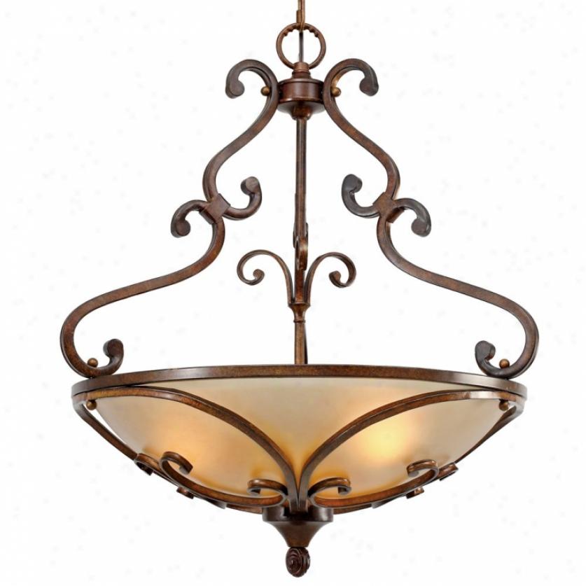 4002-3prsb - Golden Lighting - 4002-3prsb > Pendants