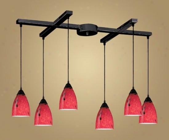 406-6fr - Elk Lighting - 406-6fr > Chandeliers