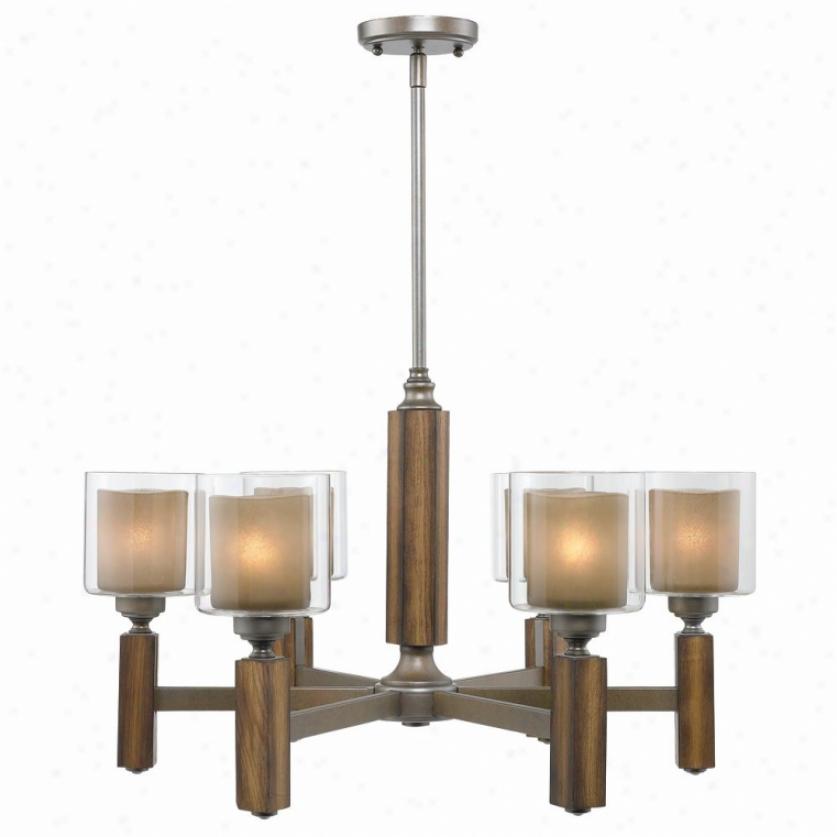 5010-6-mw - Goldem Lighting - 5010-6-mw > Chandeliers