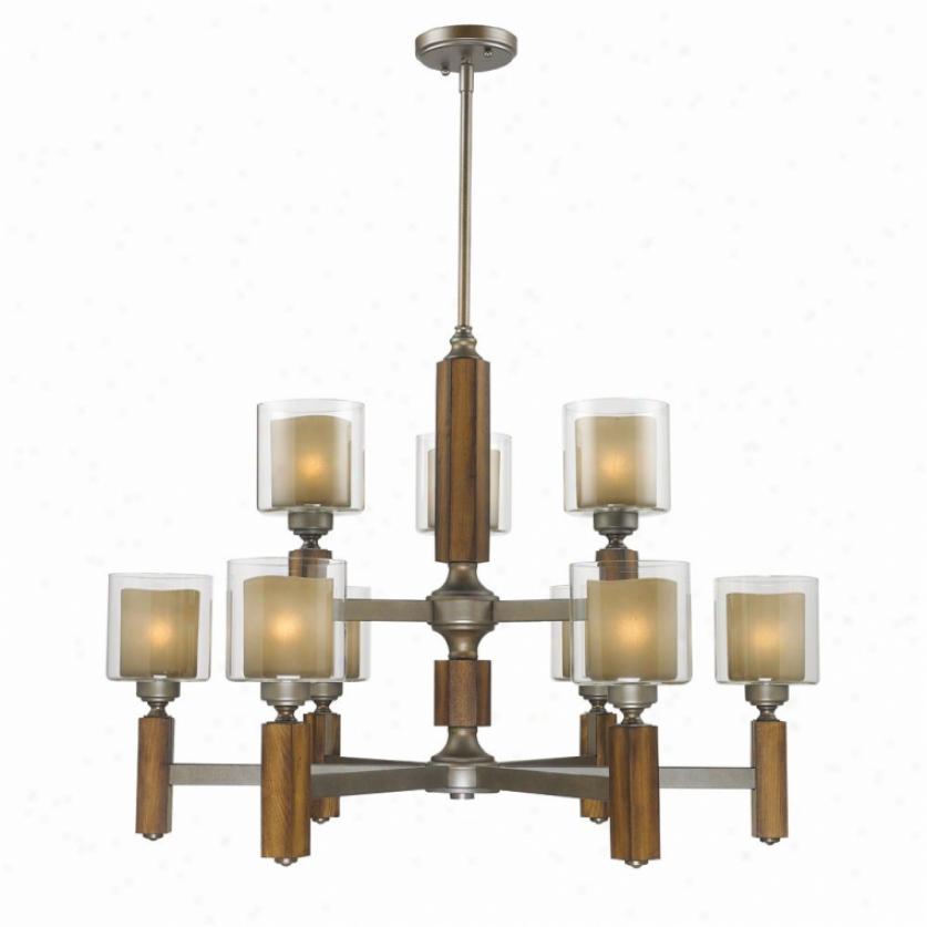 5010-9-mw - Golden Lighting - 5010-9-mw > Chandelires