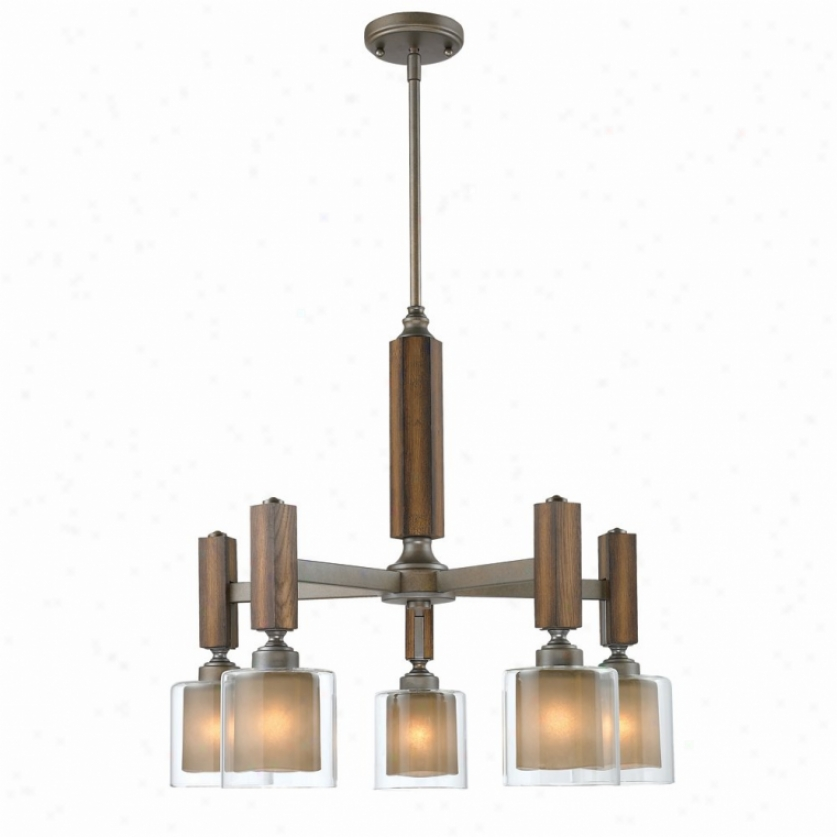 5010-d5-mw - Golden Lighting - 5010-d5-mw > Chandeliers