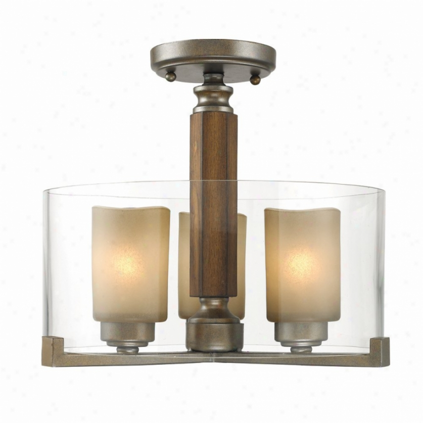 5010-sf-mw - Golden Lighting - 5010-sf-mw > Semi Flush Mount