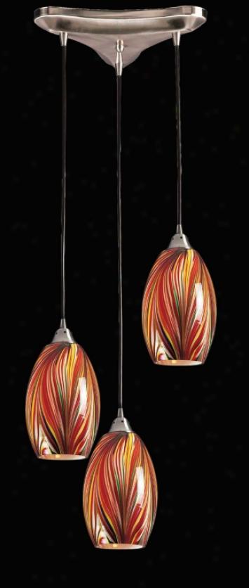 517-3-m - Elk Lighting - 517-3-m > Pendants