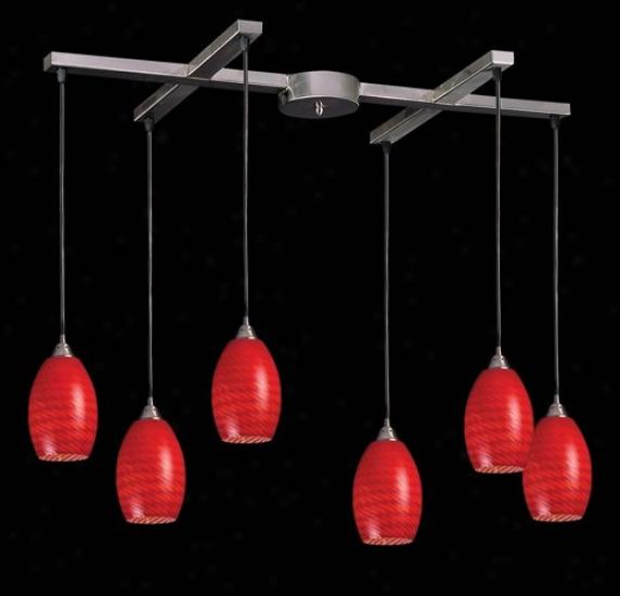 517-6-sc - Elk Lighting - 517-6-sc > Pendants