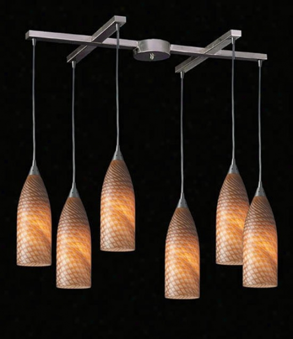 522-6ws - Elk Lighting - 522-6ws > Pendants
