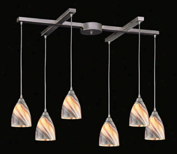 527-6vy - Elk Lighting - 527-6cy > Pendants