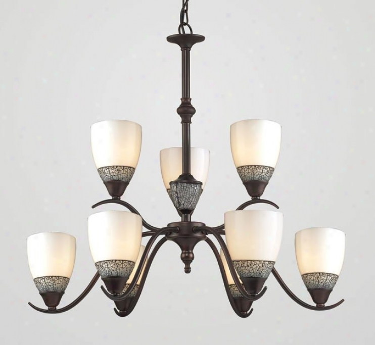 538-6+3dr - Elk Lighting - 538-6+3dr-whc > Chandeliers