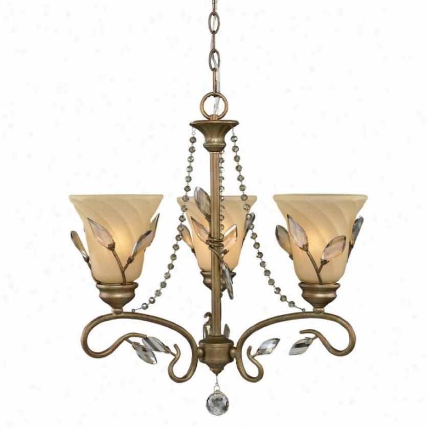 5400-m3-rg - Golden Lighting - 5400-m3-rg > Chandeliers