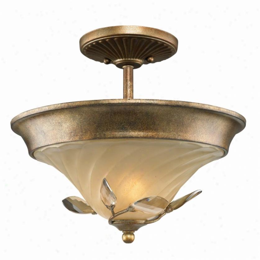 5400-sf-rg - Golden Lighting - 5400-sf-rg > Semi Flush Mount