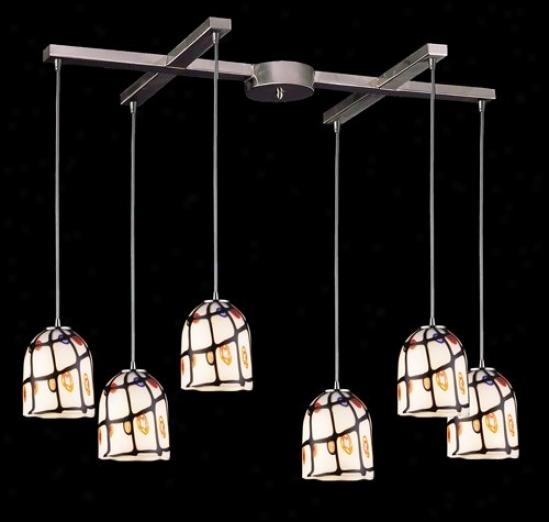 543-6iv - Elk Lighting - 543-6iv > Pendants