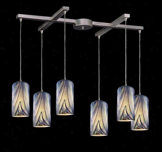 544-6mo - Elk Lighting - 544-6mo > Pendants