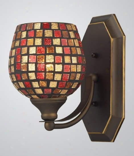 570-1b-klt - Elk Lighting - 57O-1b-mlt > Wall Lamps