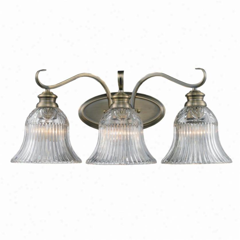 6005-ba3-ab - Golden Lighting - 6005-bz3-ab > Bath And Vanity Ligghting