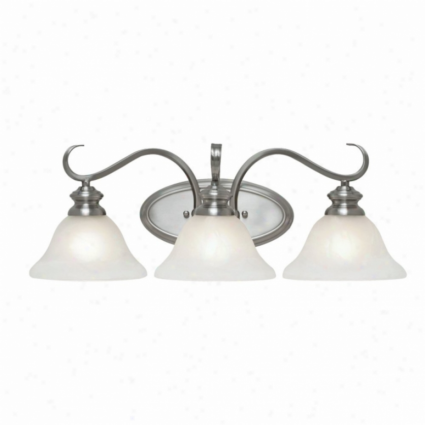 6005-ba3pw - Golden Lighting - 6005-ba3pw > Bath And Idle show Lighting