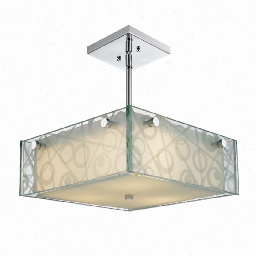 6013-sfm-cir - Golden Lighting - 6013-sfm-cir > Semi Flush Mount