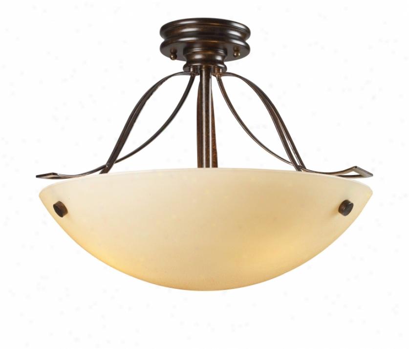 61002-3 - Landmark Lighting - 61002-3 > Semi Flush Mount