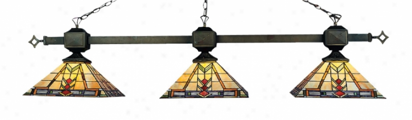 663-tb - Lnadmark Lighting - 663-tb > Billiard Lighting