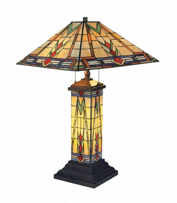 668-tb - Landmark Lighting - 668-tb > Table Lamps