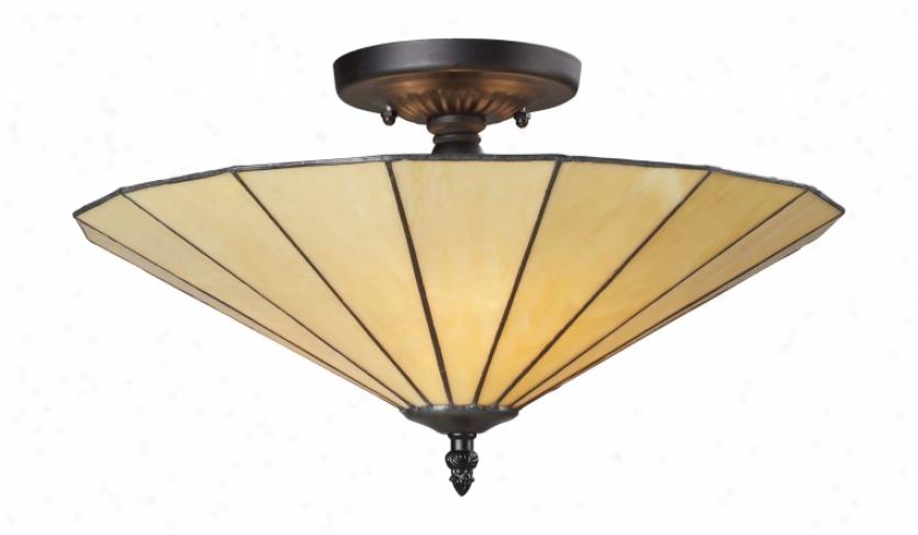 70001-3hb - Laandmark Lighting - 70001-3hb > Semi Flush Mount