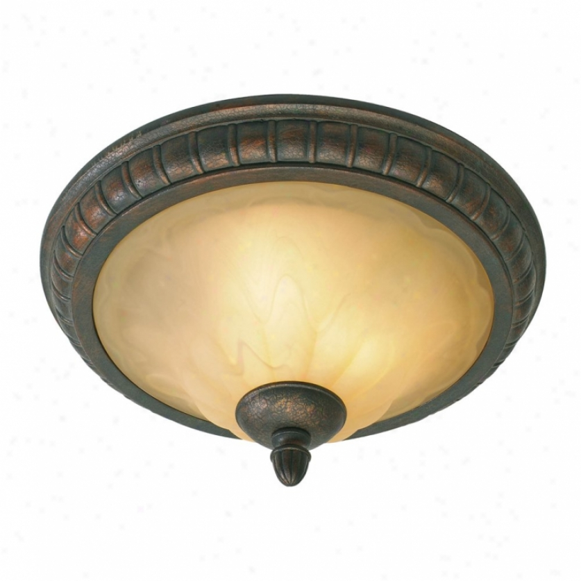 7116-17lc - Golden Lighting - 7116-17lc > Flush Mount