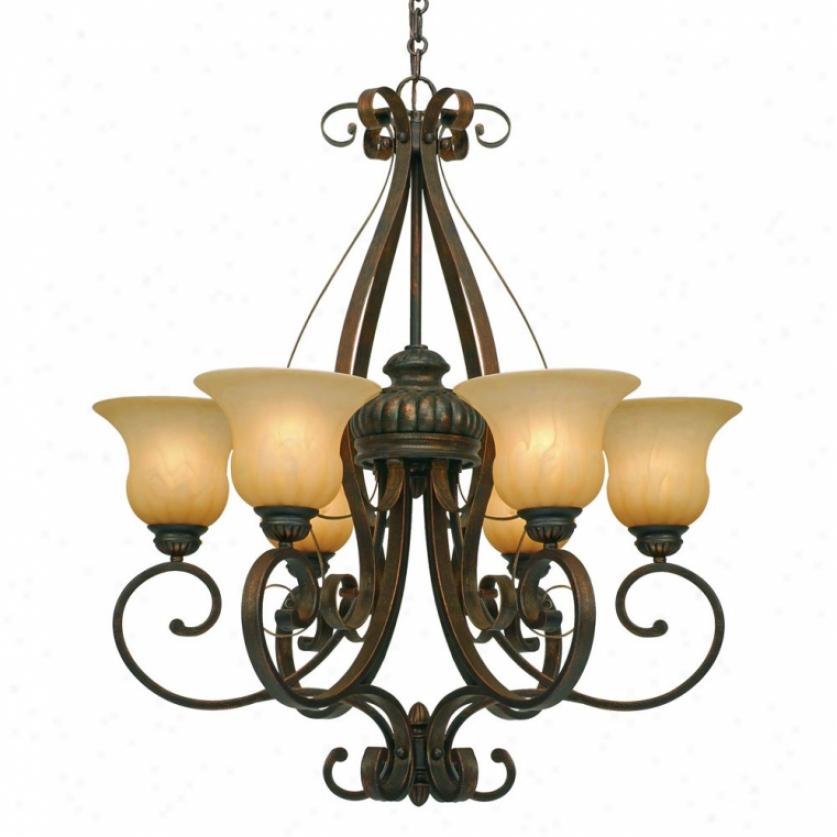 7116-6lc - Golden Lighting - 7116-6lc > Chabdeliers