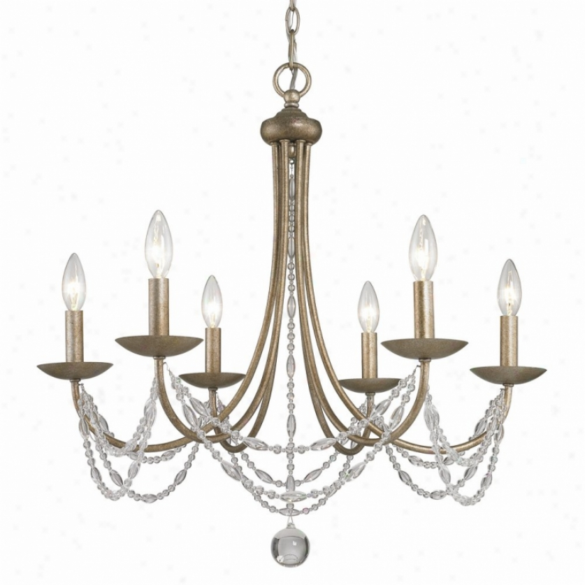 7644-6-ga - Golden Lighting - 7644-6-ga > Chandelierw